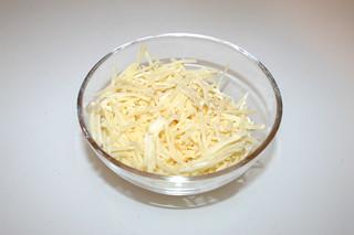 18 - Zutat geriebener Käse / Ingredient grated cheese