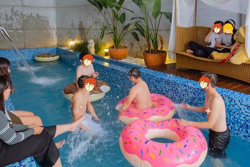 台南告別單身派對姊妹們最優的選擇,媜13泳池Villa爽爽玩! (17)
