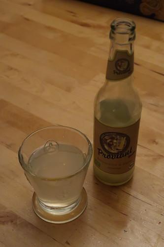 Ingwer-Zitrone-Limonade (von der Fruchtmanufaktur Proviant)
