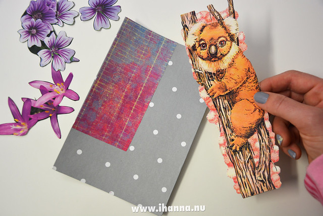 DIY Happy Collage Postcard - where does the focal image look best with iHanna of the DIY Postcard Swap #diypostcardswap