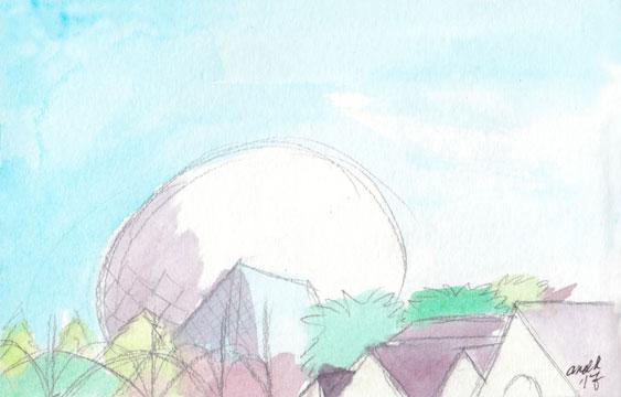 2.20.17 - EPCOT Landscape