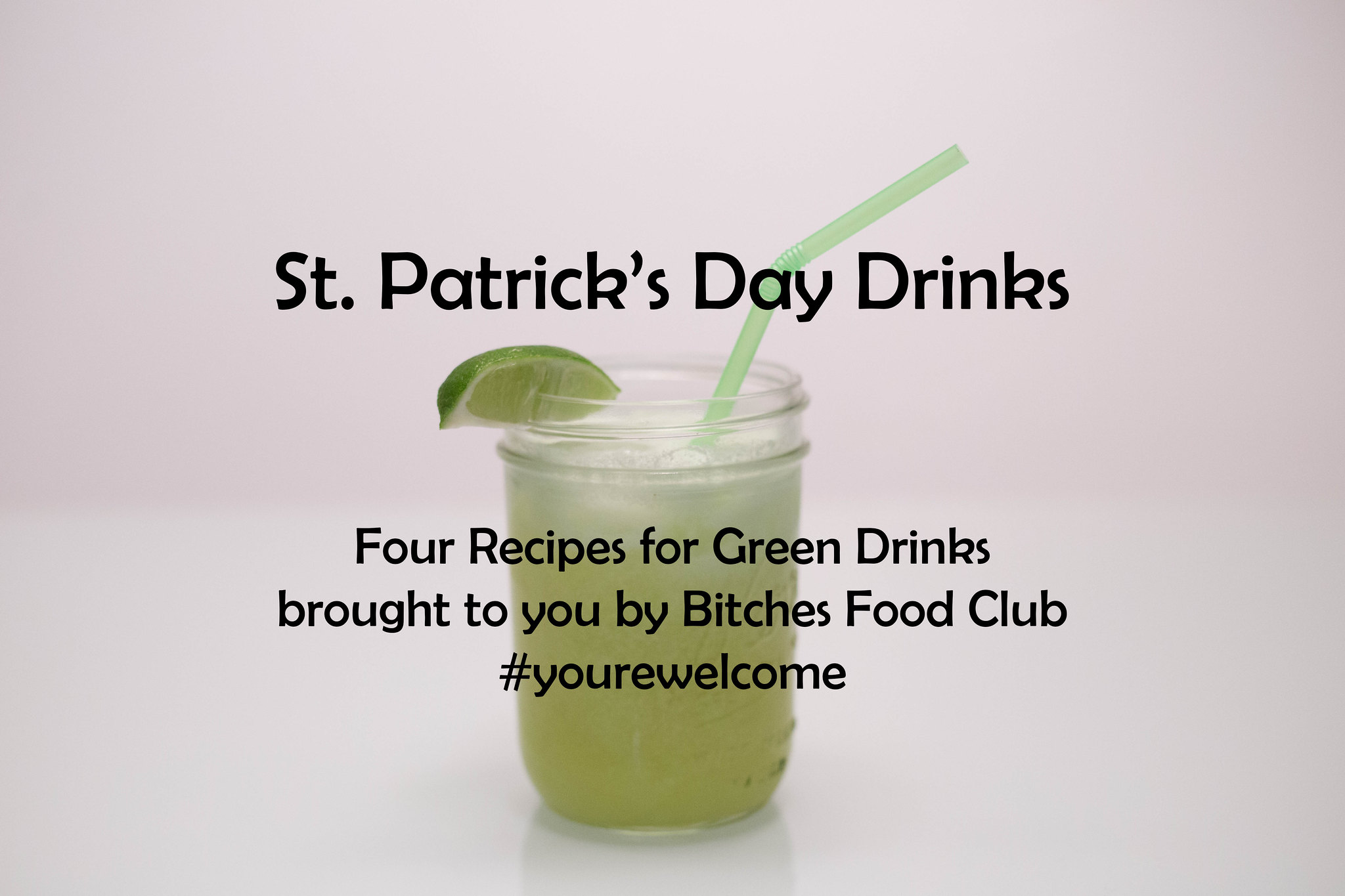 St. Patrick's Day Drinks 2017
