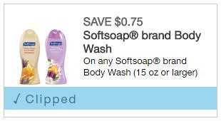 Softsoap Body Wash coupon
