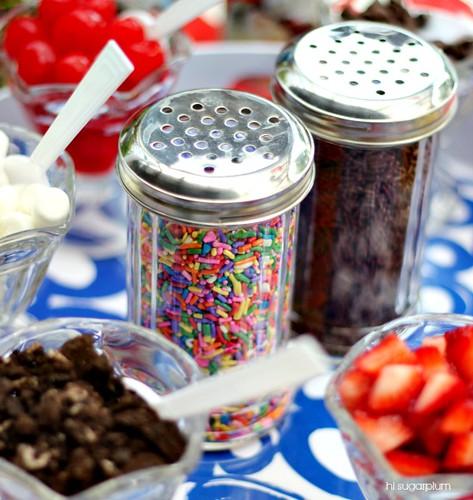 Hi sugarplum summer party ice cream bar hi sugarplum Hi sugarplum
