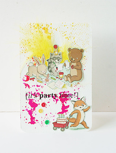 It's-party-time-card