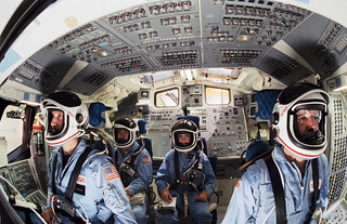 Shuttle Mission Simulator with STS-51L Crew Members | Flickr