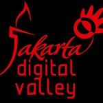 Logo Jakarta Digital Valley Merah