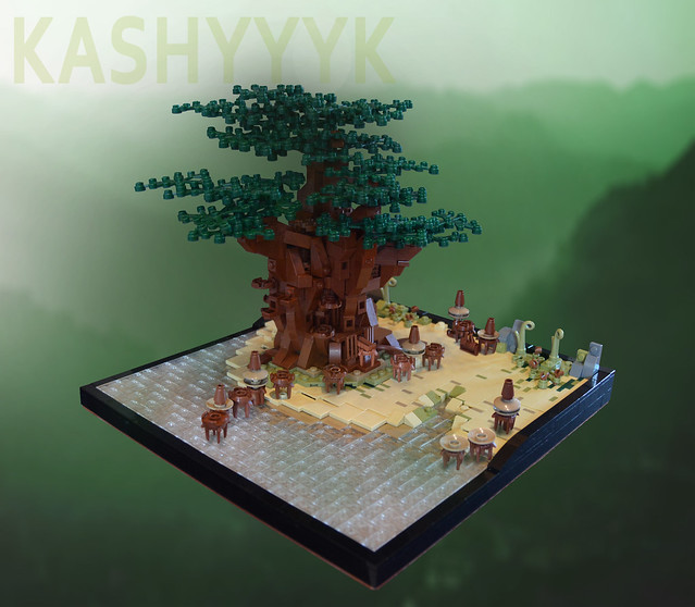 KASHYYYK - The Home World of the Wookiees