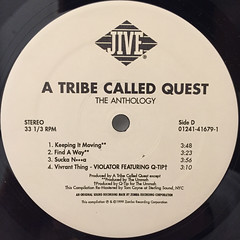 A TRIBE CALLED QUEST:THE ANTHOLOGY(LABEL SIDE-D)