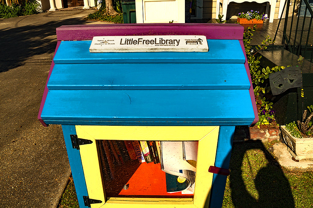Little Free Library--New Orleans