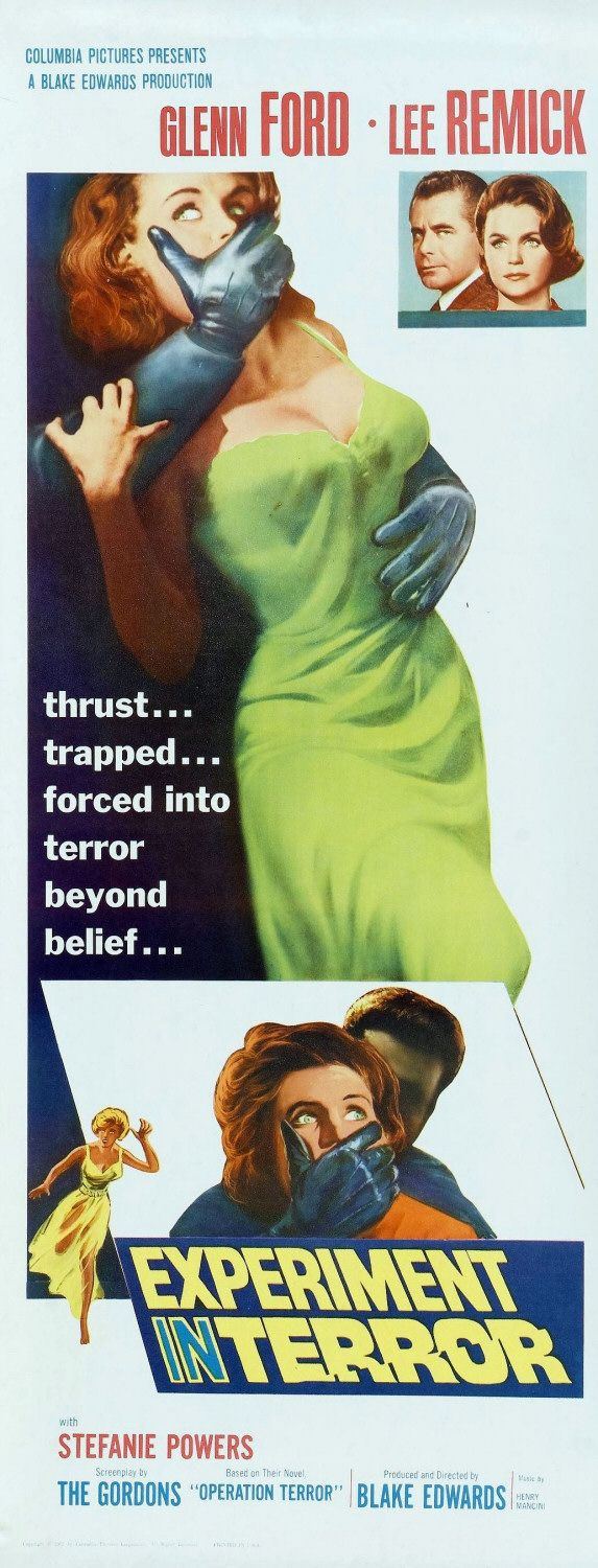 Experiment in Terror - Poster 2