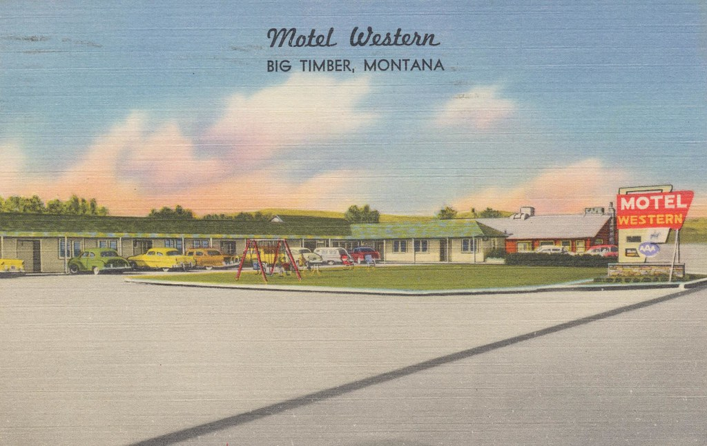 Motel Western - Big Timber, Montana