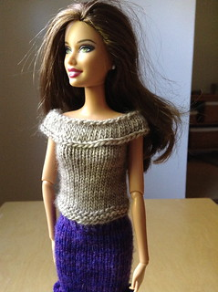 more Barbie knits | by quirky granola girl