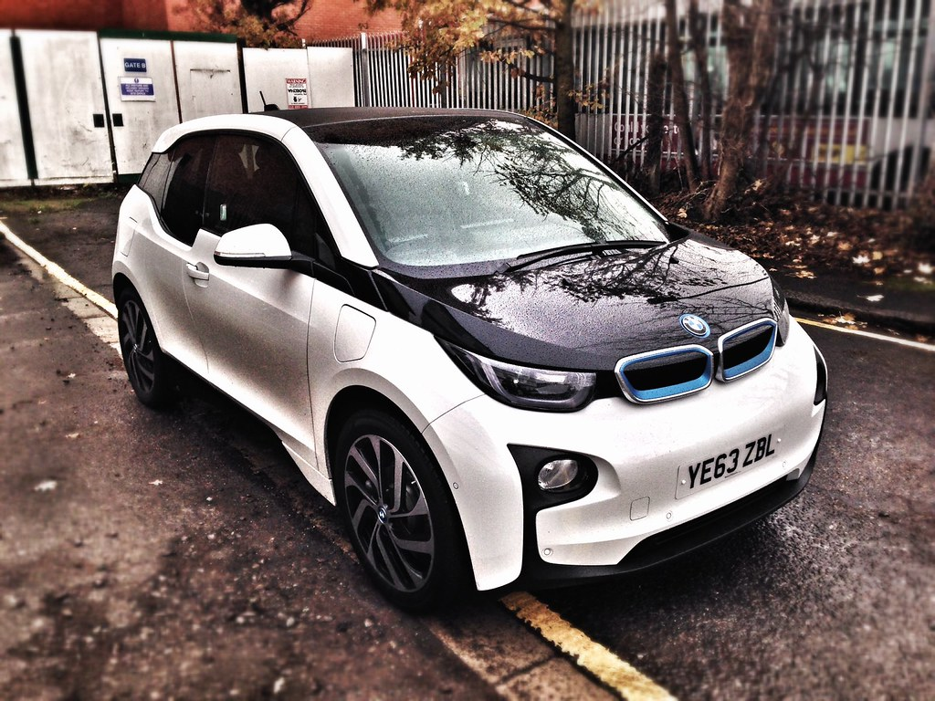 Bmw I3 Front Right Car Leasing Made Simple We Had A Bmw I3 Flickr