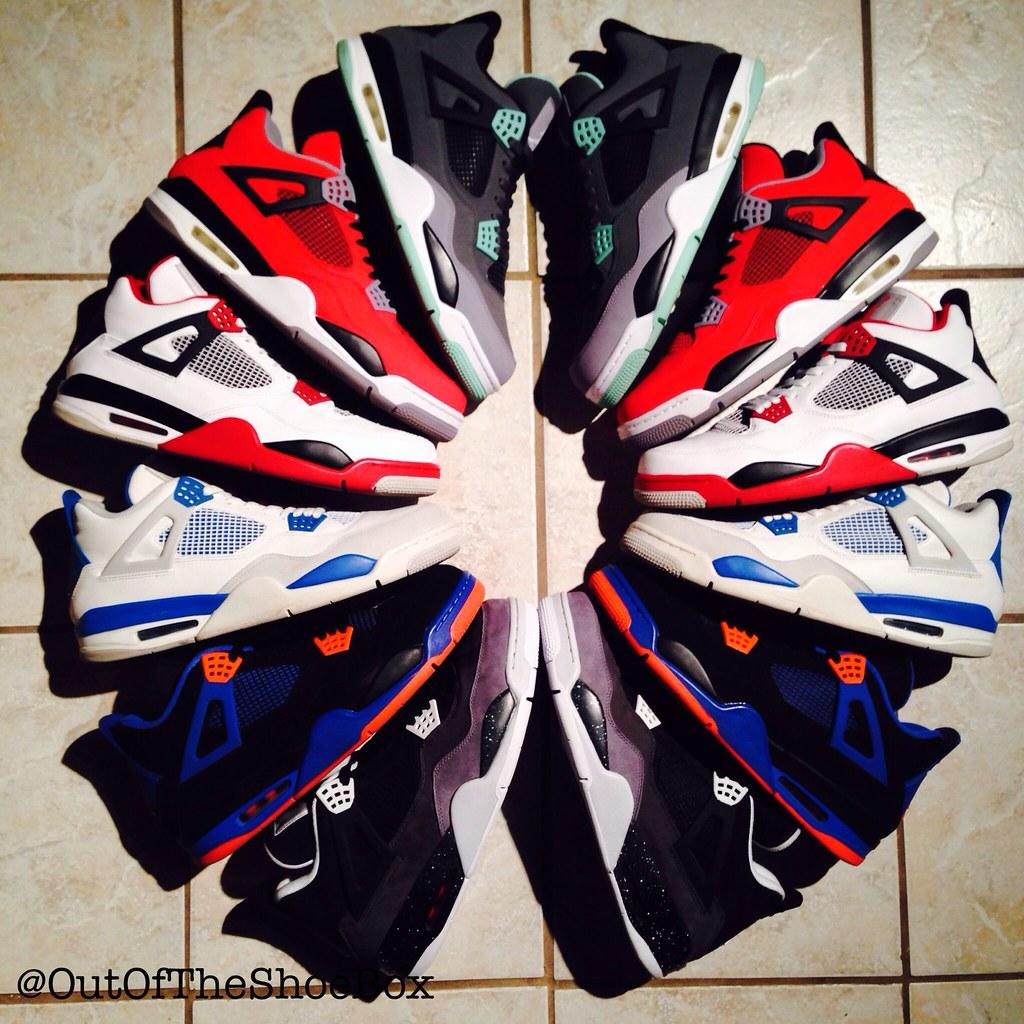 retro jordan collection