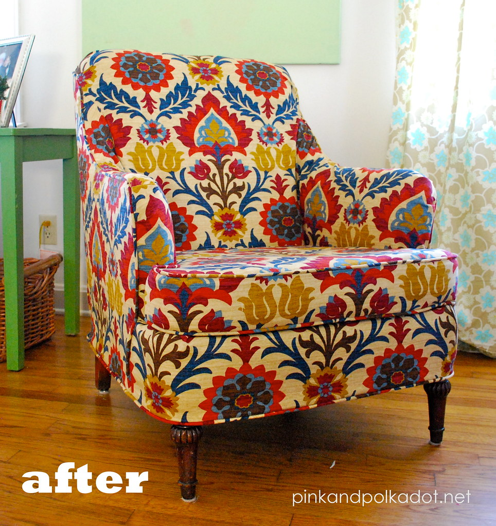 ... After Chair Slipcover | By The Slipcover Girl