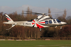 G-MUZZ - AgustaWestland AW109SP