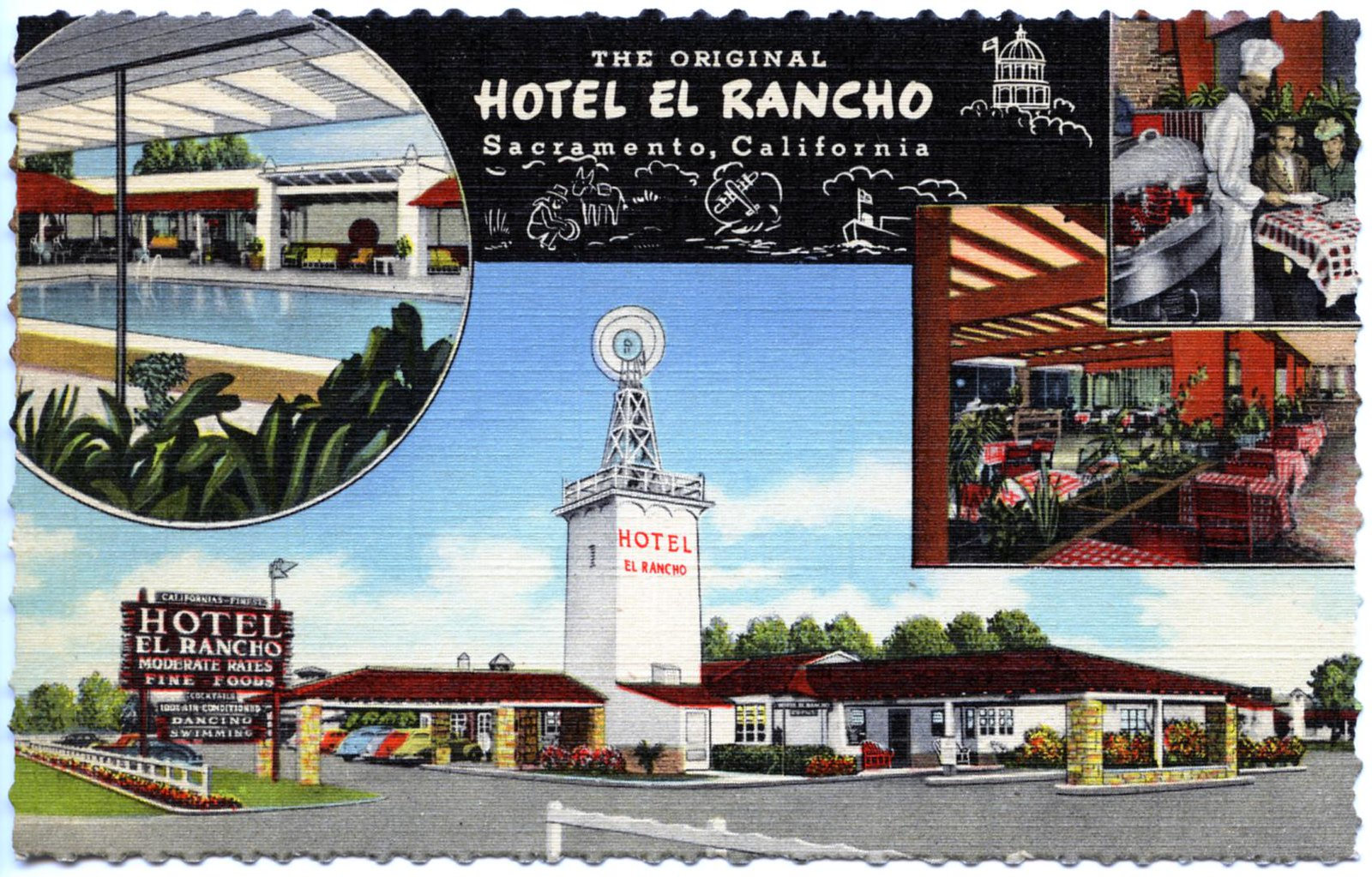 Hotel El Rancho Sacramento CA | by Edge and corner wear