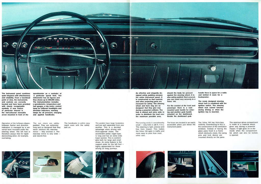 volvo 144 04   Brochure from the 1967 Motor Show