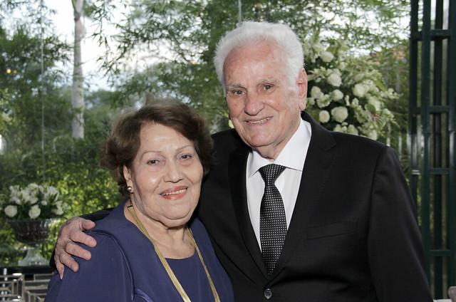 Dr Hiran e Dona Edina