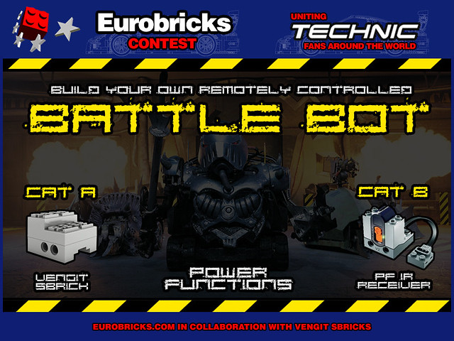 Technic Battle Bot Contest by Eurobricks