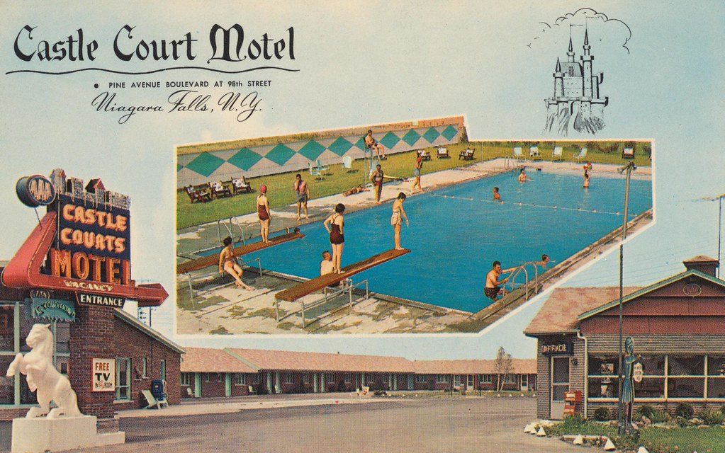 Castle Court Motel - Niagara Falls, New York
