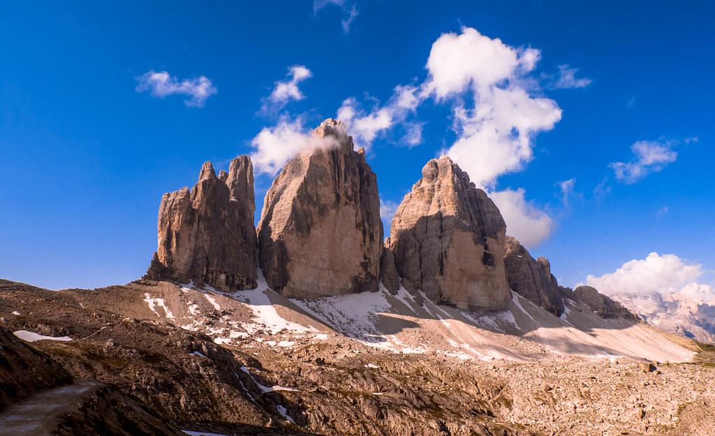 I.- Tre Cime di Lavaredo | Le Dolomiti. Italia Getty Images | Flickr