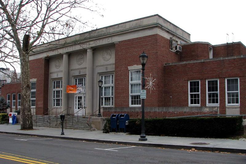 Lovely ... Scarsdale, NY Post Office | By PMCC Post Office Photos