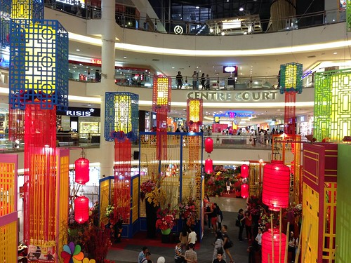 Chinese New Year Decoration At Mid Valley Mega Mall Kuala Flickr