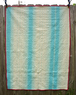 Jelly Roll Race Quilt Back | by jenniferworthen