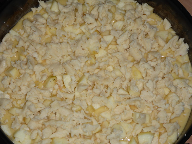 Apfelkuchen backen 020
