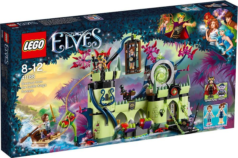 LEGO Elves Estate 2017 - Breakout from the Goblin King's Fortress (41188)