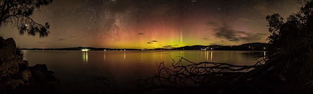 Aurora Australis Panorama