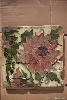 Flower Tile 4