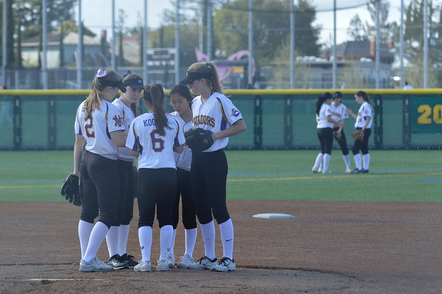 Softball Vs. Santa Clara 3/21/17