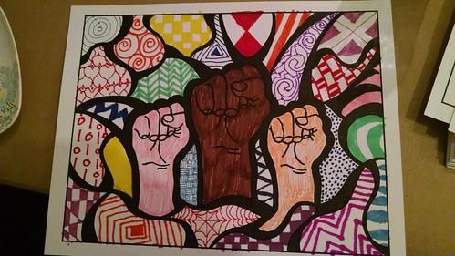 Resist Art Reception