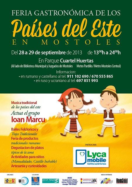 Târg Gastronomic 28-29 septembrie 2013