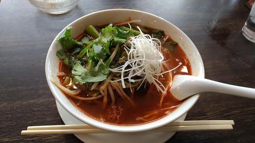 「台湾料理故宮」の「ニュウロウメン」