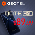 Geotel Note with 3GB RAM, TruView Display & MetalPrint Design
