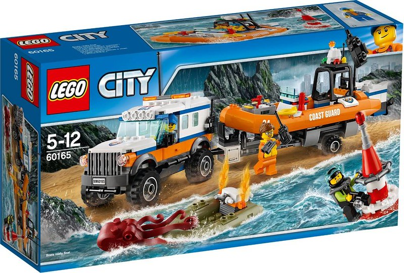 LEGO City 4 x 4 Response Unit (60165)