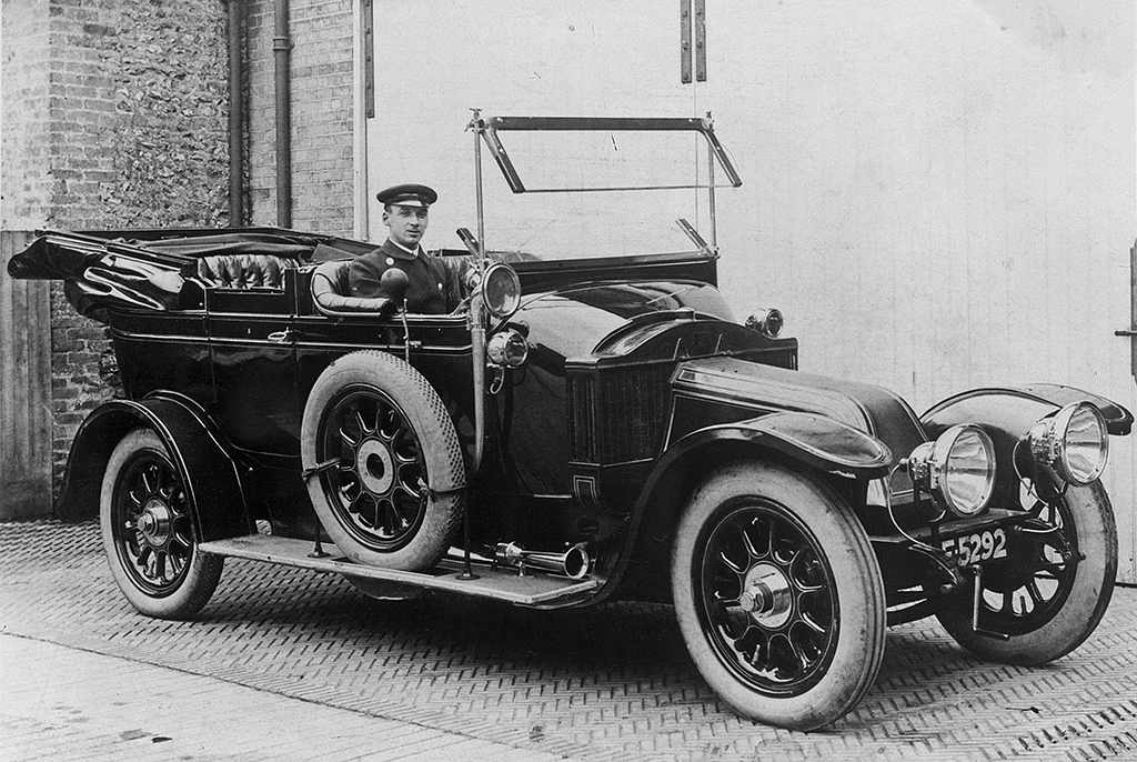 First Police Car 1913 In January 1913 The County Constab Flickr