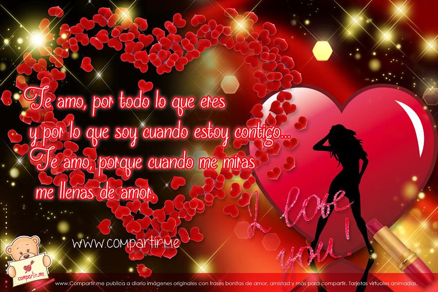 Wallpaper En Hd Con Corazones Y Frases De Amor Ver Image Flickr