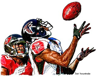 0 Atlanta Falcons Julio Jones - Tampa Bay Buccaneers Leonard Johnson | by Jack Kurzenknabe