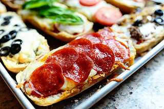 French Bread Pizzas | by Ree Drummond / The Pioneer Woman