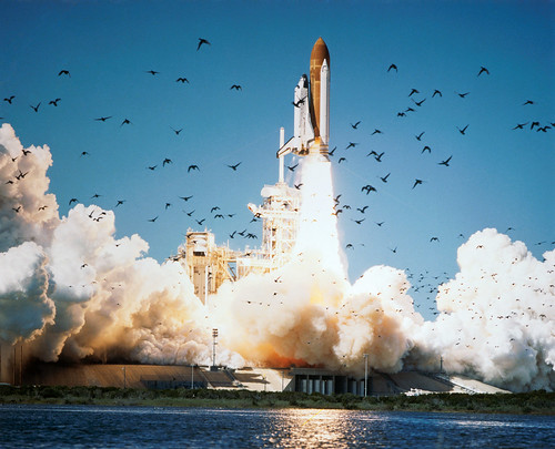 Space Shuttle Challenger Lifts Off | by NASA Johnson