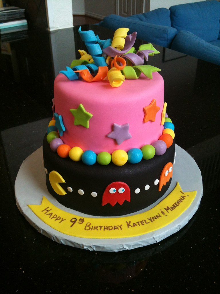 9 Year Old Twins Birthday Cake