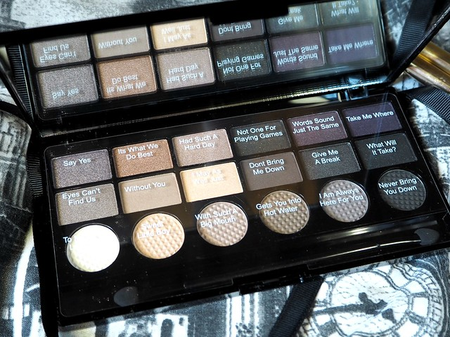 Makeup Rev hard Day Palette Shade Names