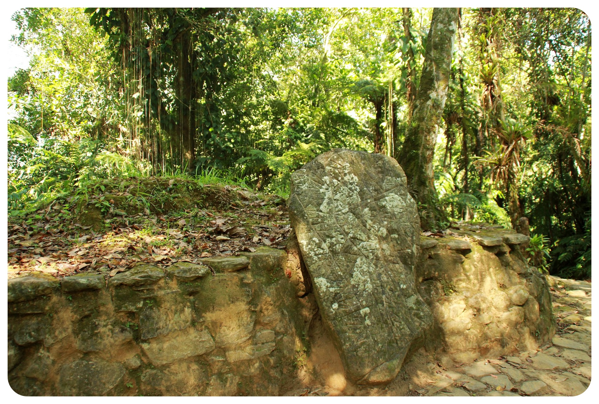 ciudad perdida rock map