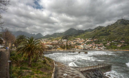 Madeira - Machico - Looking over the bay