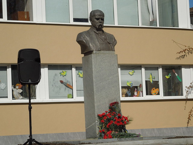 Урочистості з нагоди 203-ої річниці з дня народження Тараса Шевченка